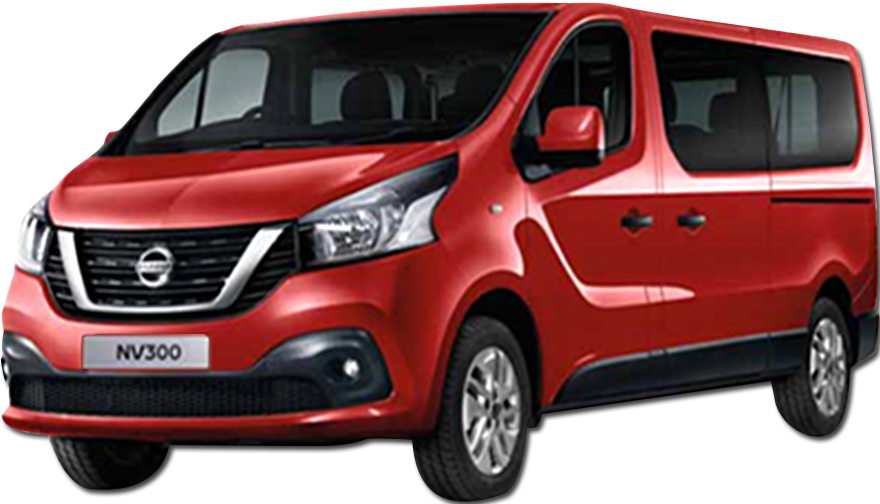 Nissan NV300 9 seater or Similar <br> (Group L)